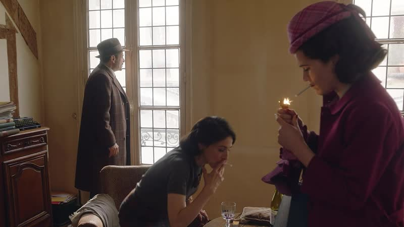 The marvelous mrs. maisel |2x01| французские сигареты