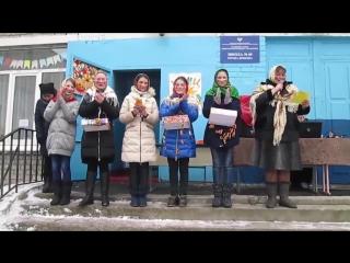 Масленичные гуляния в МОУ Школа № 60 г.Донецка