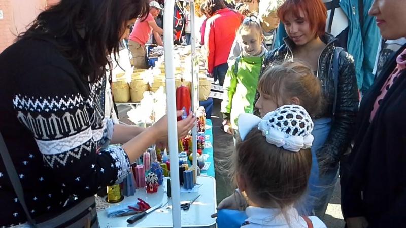 Фестиваль Антоновские яблоки в г.Елец Липецкой области.