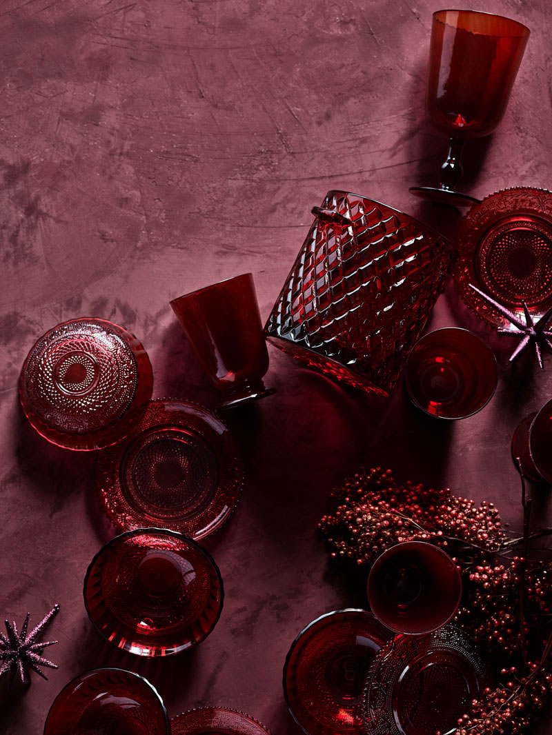 Великолепное Рождество в красном