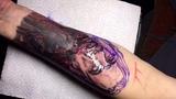 Voron Tattoo - Zombie girl (time laps)