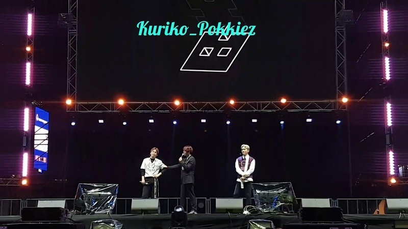 181209 EXO-CBX TalkTEMPO @ Maya Music Festival 2018 in BKK