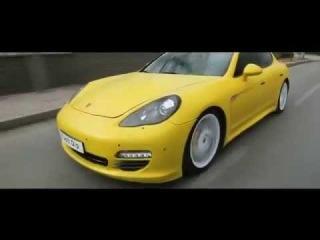 Car Coating - Plasti Dip Porsche Panamera !