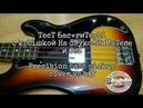 Precision bass pickup cover vs off. Тест бас-гитары с крышкой на звукоснимателе и без