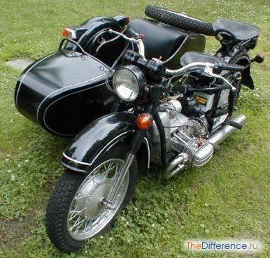 Разница между мотоциклами Днепр и Урал Легендарные и таинственные мотоциклы Днепр и Урал Загадочны для большинства людей они тем, что два мотоцикла разных заводов практически одинаковы на взгляд