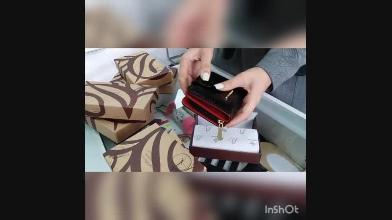 Новое поступление кошельков и сумок Dimanche