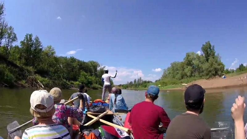 Сплав по реке Кинель