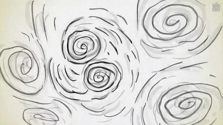 Математическая разгадка Звёздной ночи Ван Гога