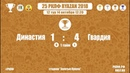 25 РКЛФ Бронзовый Кубок Династия-Гвардия 1:4