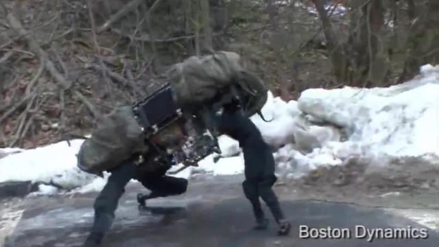 Boston Dynamics 2010 vs 2018