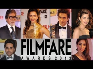 59th Idea Filmfare Awards 2013 EXCLUSIVE VIDEO