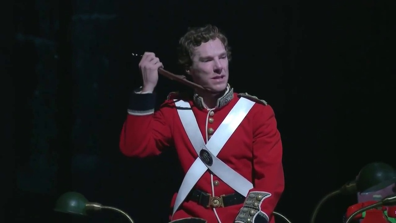 Benedict Cumberbatch (Hamlet): To be or not to be monologue theatre (Amleto) star Sherlock Avengers