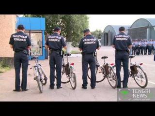 Столичных полицейских пересадили на велосипеды