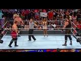 Fatal 4 , Roman Reigns , Braun Strowman , Samoa &amp Brock Lesnar - WWE 4th July 2018