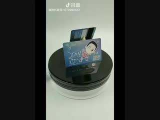 181107 JungYongHwa - BC Card Unionpay Credit Card (cartoon ver)