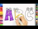 Рисуем весёлые буквы