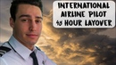 INTERNATIONAL AIRLINE PILOT 48 HOUR LAYOVER USA VLOG