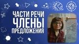 Части речи и члены предложения Русский язык просто о сложном