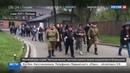 Новости на Россия 24 • Ночные волки почтили память жертв лагеря смерти Освенцим