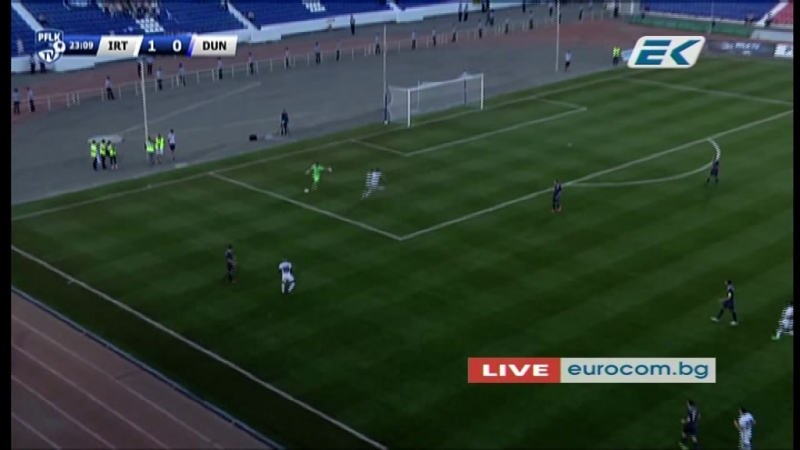 2 EL-2017/2018 Irtysh Pavlodar - FC Dunav Ruse 1:0 (29.06.2017) 1H