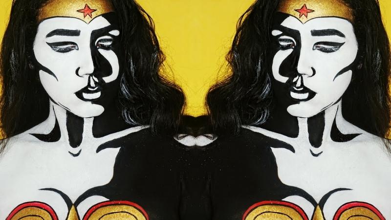 POP ART WONDER WOMAN MAKEUP TUTORIAL | DARLENE ABREU