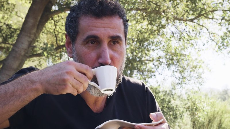 At Home with Serj Tankian by Revolver Magazine | Episode 002 The Art of Work