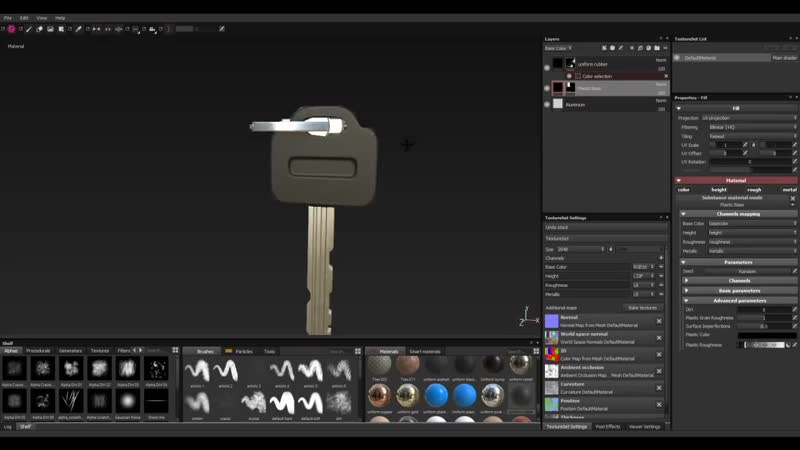 Substance Painter - 2 - Multi⁄Sub-Object, Ideal Unwrap and Smoothing