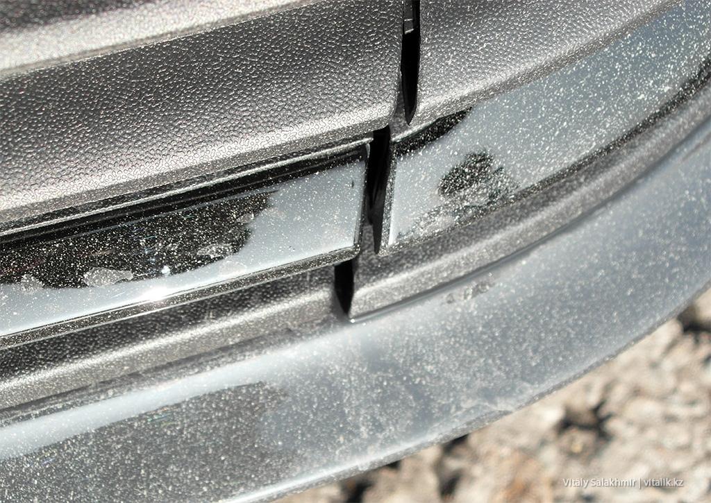 Зазор на бампере машины энитайм Алматы