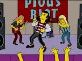 Симпсоны Quiet Riot