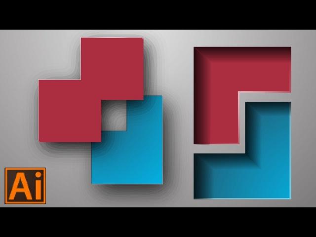 Объем и глубина в Adobe Illustrator | JULI ROSE