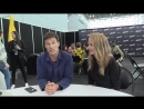 New york comic con 2k17 comic uno the gifted's × amy acker and stephen moyer interview