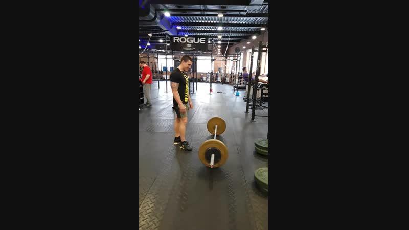 Рывок в сед by Mishkamultigym 55 kg