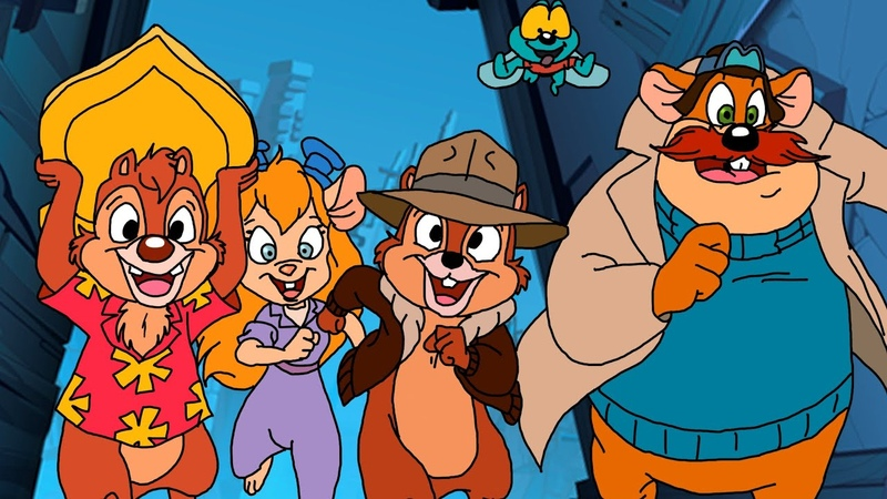 Chip n Dale Rescue Rangers (Remastered) ᴴᴰ