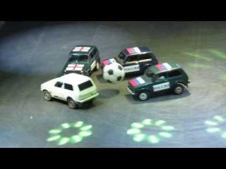 Top Gear Live: Футбол Нивами