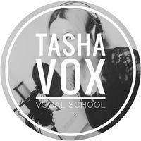 Логотип Tasha Vox vocal school