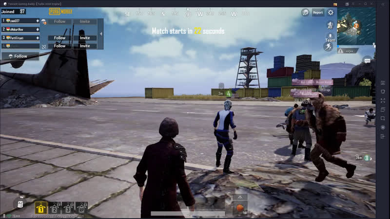 PUBG Ace Tier Squad TPP Chicken Dinners