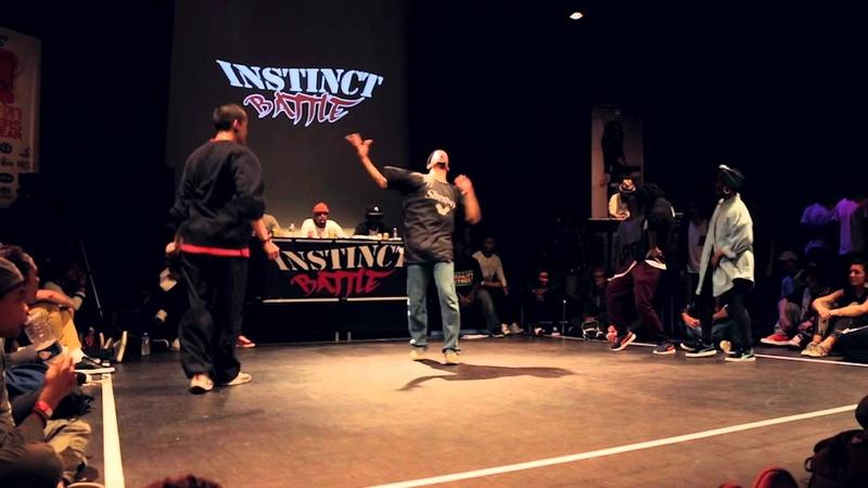 Instinct Battle 4 - Huitièmes de finale HipHop - Gonzy Raza VS Foxsy Ally