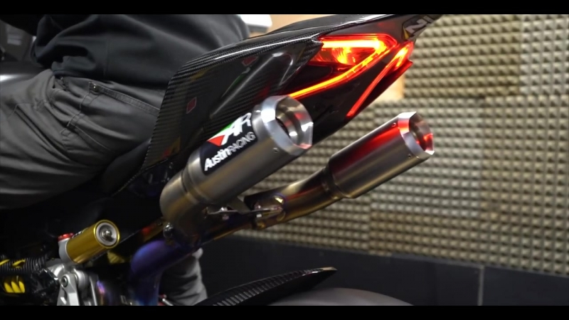 Ducati 1199_1299 Panigale Austin Racing Exhaust and Dyno RUN