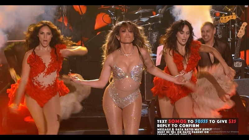 Jennifer Lopez - Lets Get Loud (Somos Live) [Full HD]
