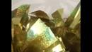 0004 Помпоны для черлидинга POMS голограмма золото