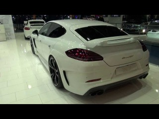 TechArt NEW Porsche Panamera Turbo Grand GT at Frankfurt 2013