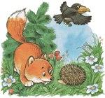 Сказки поучительные Словарный запас ребенка Большой маленький Лисята