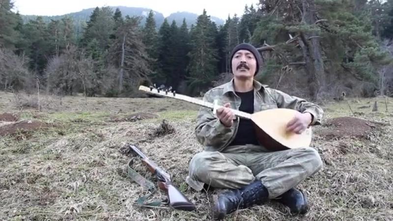 Anatolian Turkic folk song Tanrı Dağların Kurtları Alperen