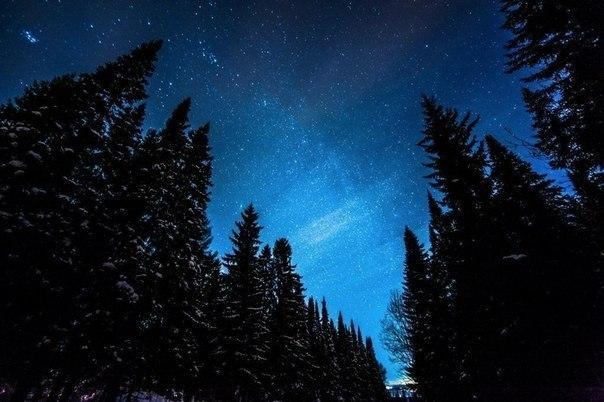 Ночь, Пермский край, Россия