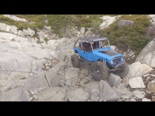 The Rubicon Trail (Drone's Perspective)(Music by V-Sine Beatz)