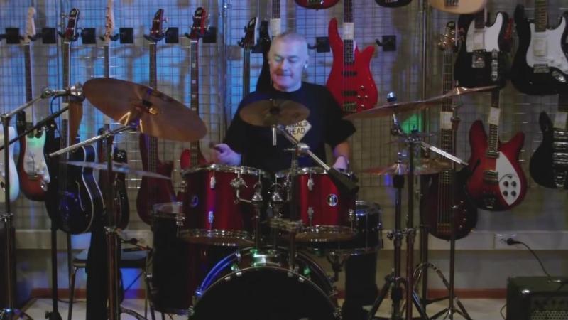 Vladimir Volodin (drums) - 2010 г