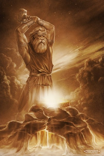 НАШИ ДРЕВНИЕ БОГИ . СВАРОГ