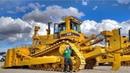 World's Dangerous Biggest Bulldozer Operator Skills - Amazing Heavy Equipment Machines Working