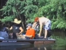 Прикол с лодочным мотором на рыбалке