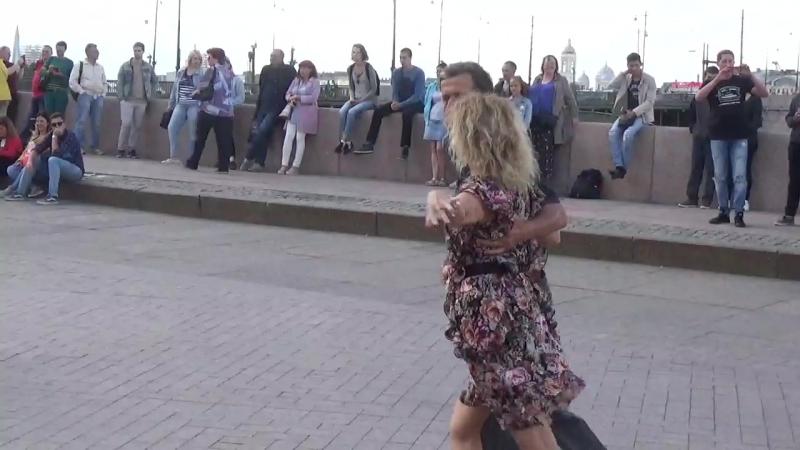 Самба Бальные танцы на Стрелке В О 12 08 2018 г вид 899